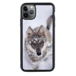 Glass Case Phone Cover for Apple iPhone 11 Pro Max / Wolf