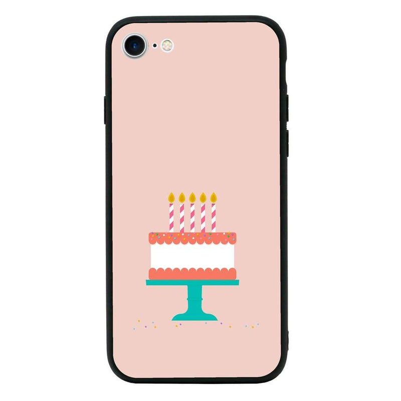 Glass Case Phone Cover for Apple iPhone 6 6s / Cake I-Choose Ltd