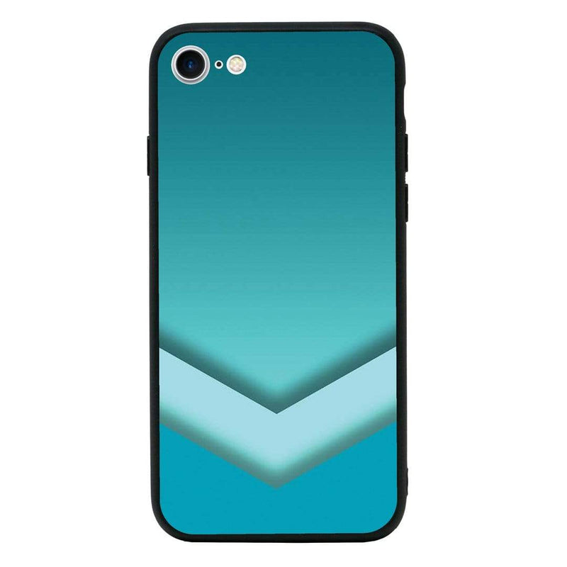 Glass Case Phone Cover for Apple iPhone 6 6s / Chevron Block I-Choose Ltd