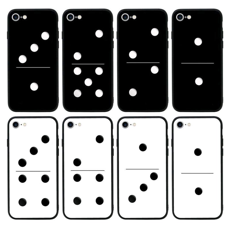 Glass Case Phone Cover for Apple iPhone 6 6s / Dominoes I-Choose Ltd