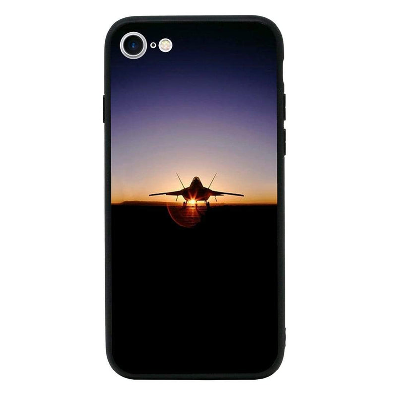 Glass Case Phone Cover for Apple iPhone 6 6s / Fighter Planes I-Choose Ltd