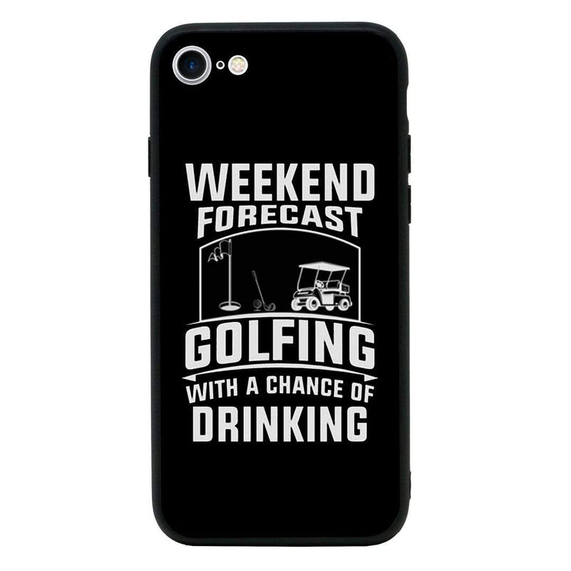 Glass Case Phone Cover for Apple iPhone 6 6s / Golf I-Choose Ltd