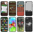 Glass Case Phone Cover for Apple iPhone 6 6s / Horse Racing I-Choose Ltd