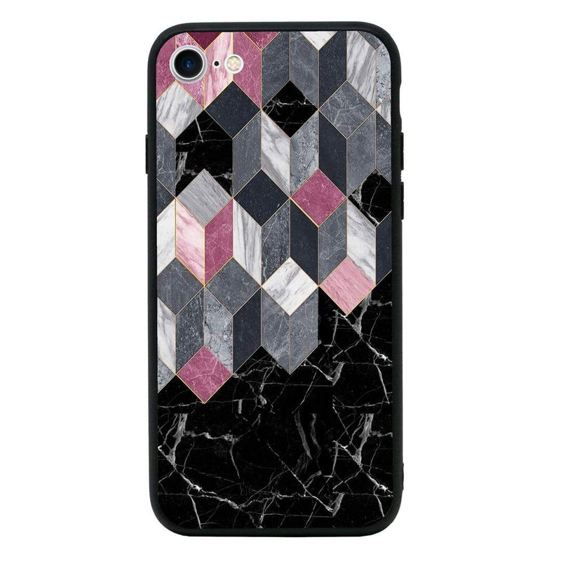 Glass Case Phone Cover for Apple iPhone 6 6s / Marble I-Choose Ltd