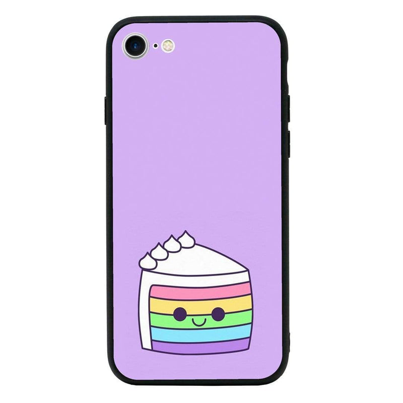 Glass Case Phone Cover for Apple iPhone 7 / Cake I-Choose Ltd