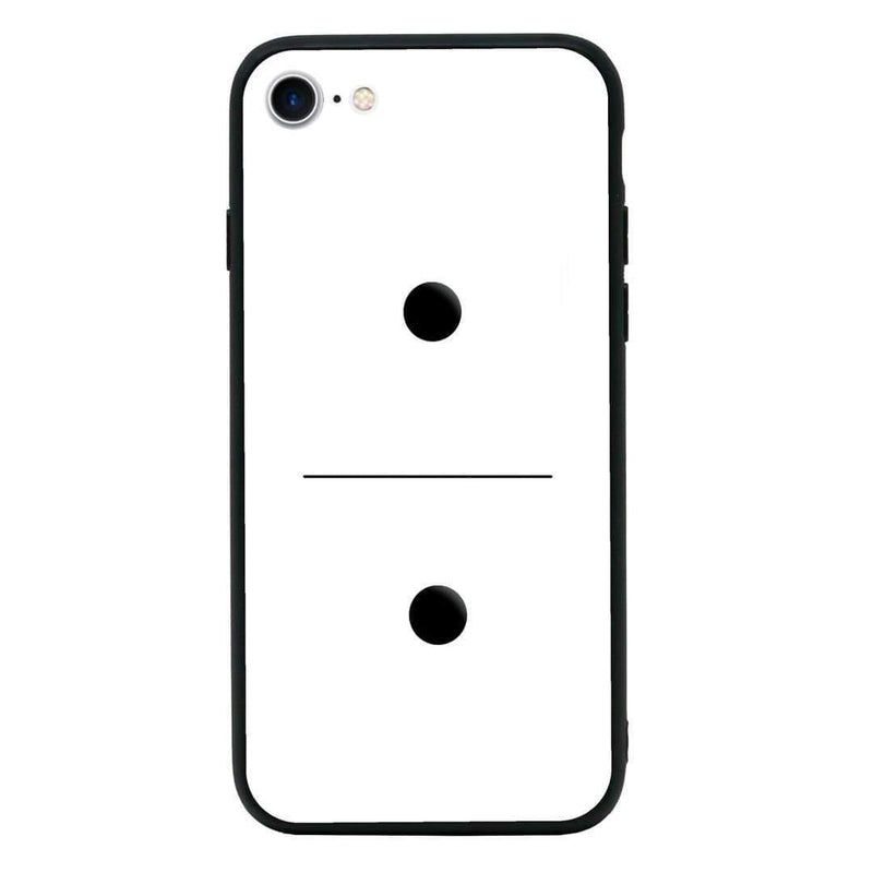Glass Case Phone Cover for Apple iPhone 7 / Dominoes I-Choose Ltd