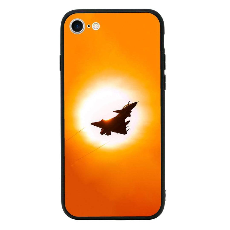 Glass Case Phone Cover for Apple iPhone 7 / Fighter Planes I-Choose Ltd