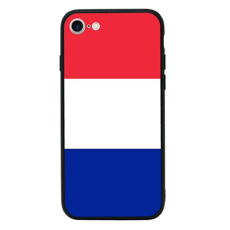 Glass Case Phone Cover for Apple iPhone 7 / Flags I-Choose Ltd