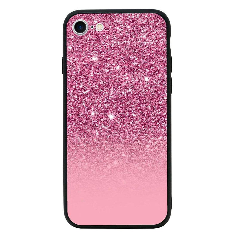 Glass Case Phone Cover for Apple iPhone 7 / Glitter I-Choose Ltd
