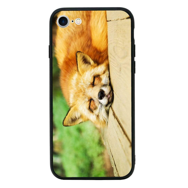 Glass Case Phone Cover for Apple iPhone 7 Plus / Animals I-Choose Ltd