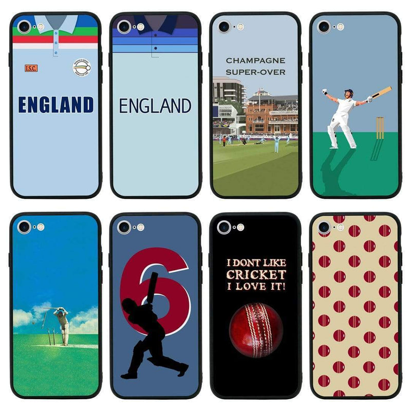 Glass Case Phone Cover for Apple iPhone 7 Plus / Cricket I-Choose Ltd