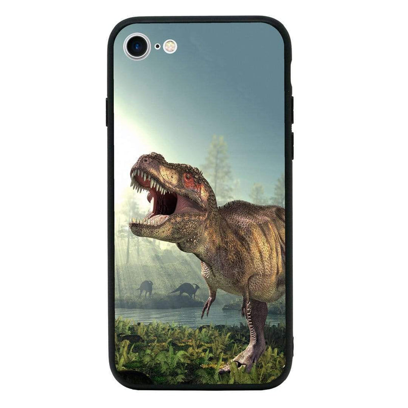 Glass Case Phone Cover for Apple iPhone 7 Plus / Dinosaur I-Choose Ltd