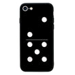Glass Case Phone Cover for Apple iPhone 7 Plus / Dominoes I-Choose Ltd