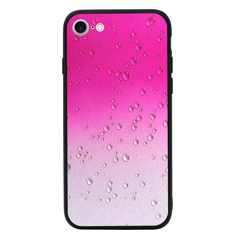 Glass Case Phone Cover for Apple iPhone 7 Plus / Raindrop I-Choose Ltd