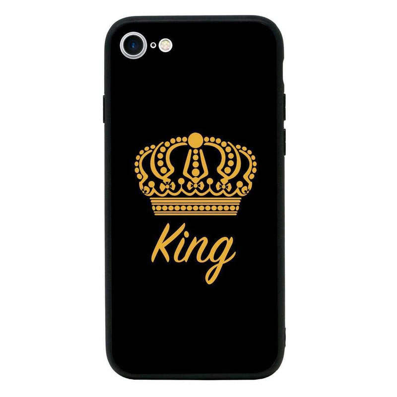 Glass Case Phone Cover for Apple iPhone 7 / Royal I-Choose Ltd
