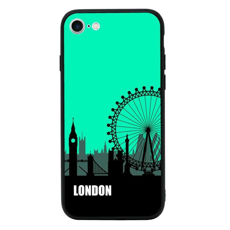Glass Case Phone Cover for Apple iPhone 7 / Skyline I-Choose Ltd