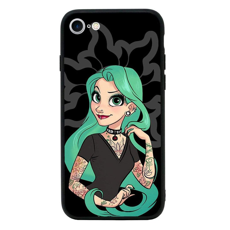 Glass Case Phone Cover for Apple iPhone 7 / Tattoo I-Choose Ltd