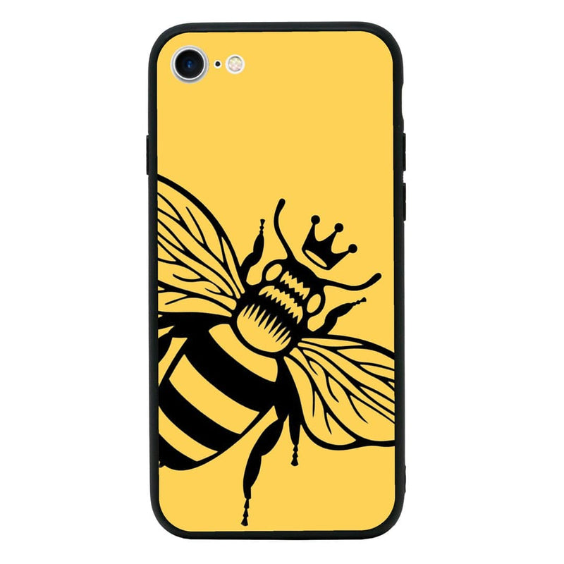 Glass Case Phone Cover for Apple iPhone 8 / Bee I-Choose Ltd
