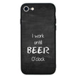 Glass Case Phone Cover for Apple iPhone 8 / Beer I-Choose Ltd