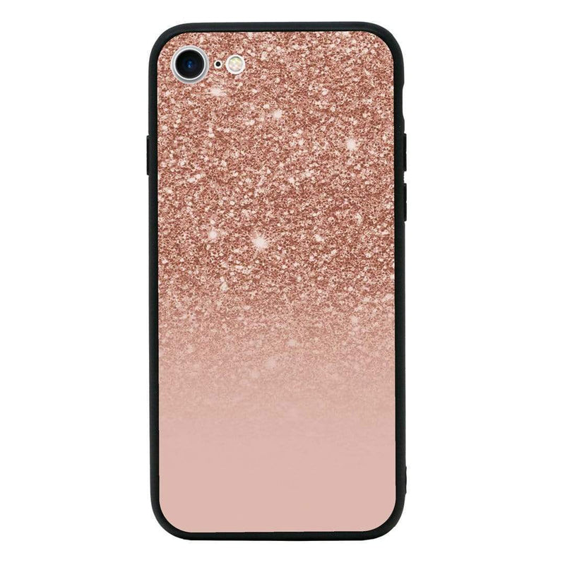 Glass Case Phone Cover for Apple iPhone 8 / Glitter I-Choose Ltd