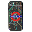 Glass Case Phone Cover for Apple iPhone 8 / London I-Choose Ltd