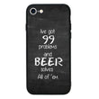 Glass Case Phone Cover for Apple iPhone 8 Plus / Beer I-Choose Ltd