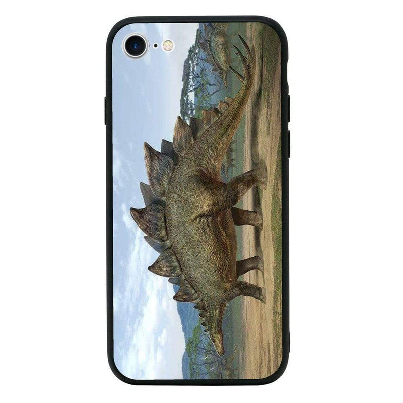 Glass Case Phone Cover for Apple iPhone 8 Plus / Dinosaur I-Choose Ltd