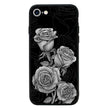 Glass Case Phone Cover for Apple iPhone 8 Plus / Floral Bloom I-Choose Ltd