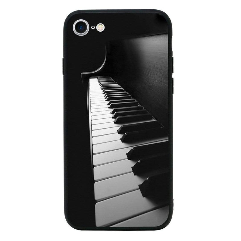 Glass Case Phone Cover for Apple iPhone 8 Plus / Instruments I-Choose Ltd