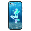 Glass Case Phone Cover for Apple iPhone 8 Plus / Mermaids I-Choose Ltd