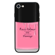 Glass Case Phone Cover for Apple iPhone 8 Plus / Nail Polish I-Choose Ltd