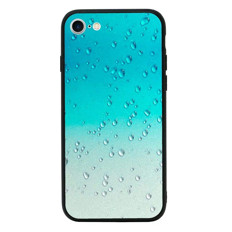Glass Case Phone Cover for Apple iPhone 8 Plus / Raindrop I-Choose Ltd