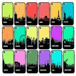 Glass Case Phone Cover for Apple iPhone 8 Plus / Skyline I-Choose Ltd