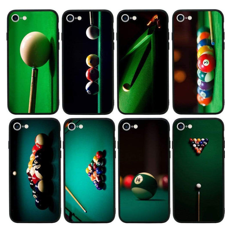 Glass Case Phone Cover for Apple iPhone 8 Plus / Snooker I-Choose Ltd