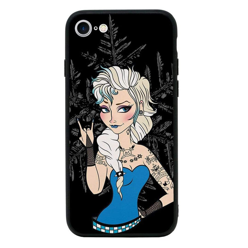 Glass Case Phone Cover for Apple iPhone 8 Plus / Tattoo I-Choose Ltd