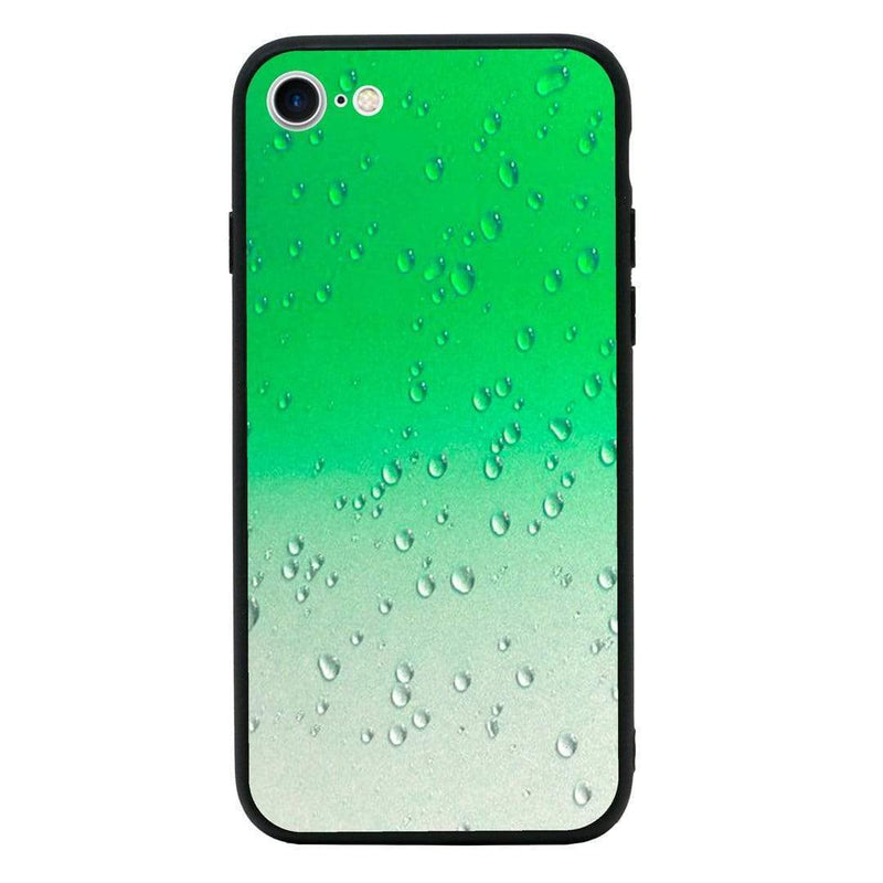 Glass Case Phone Cover for Apple iPhone 8 / Raindrop I-Choose Ltd