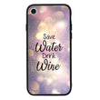 Glass Case Phone Cover for Apple iPhone 8 / Wine I-Choose Ltd