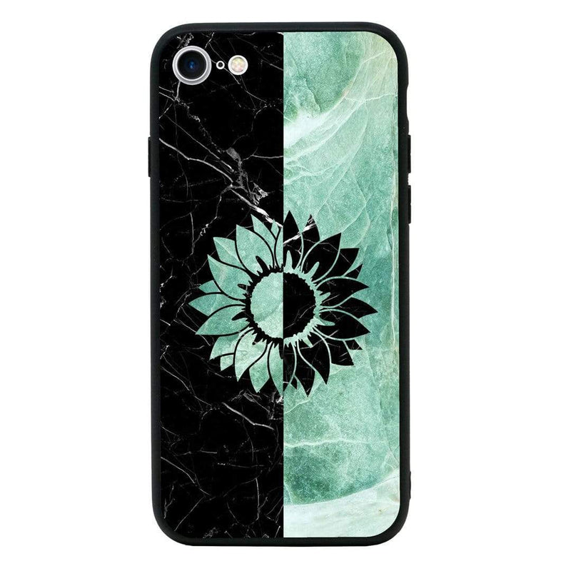 Glass Case Phone Cover for Apple iPhone SE 2020 / Marble I-Choose Ltd