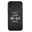 Glass Case Phone Cover for Apple iPhone X XS 10 / Beer I-Choose Ltd