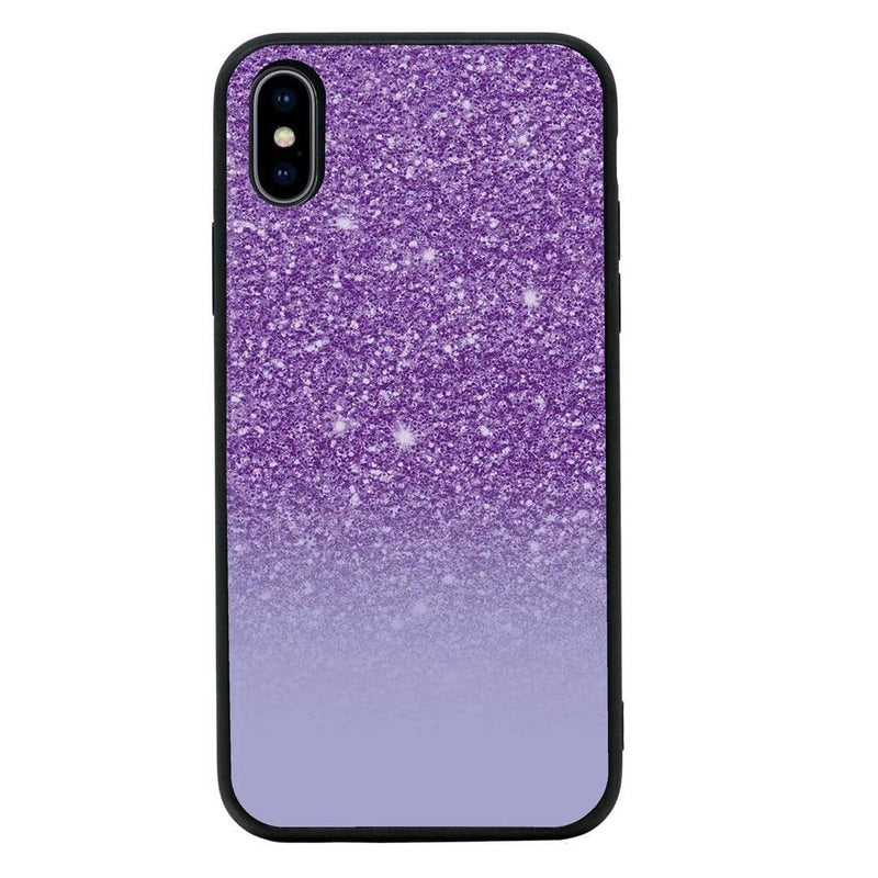 Glass Case Phone Cover for Apple iPhone X XS 10 / Glitter I-Choose Ltd