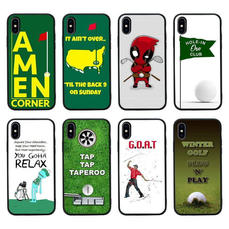 Glass Case Phone Cover for Apple iPhone X XS 10 / Golf I-Choose Ltd