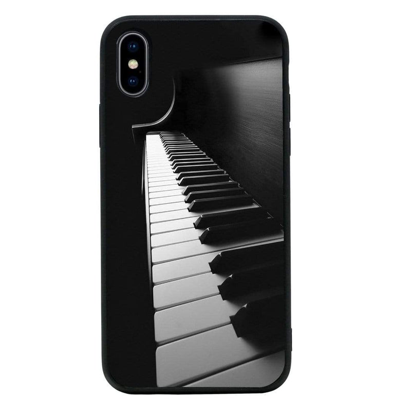 Glass Case Phone Cover for Apple iPhone X XS 10 / Instruments I-Choose Ltd