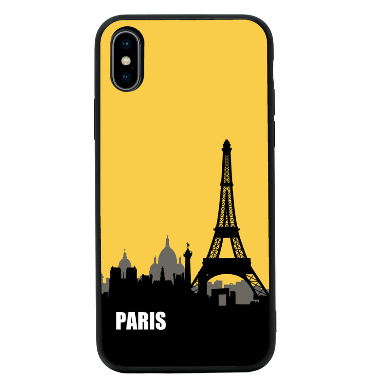 Glass Case Phone Cover for Apple iPhone X XS 10 / Skyline I-Choose Ltd