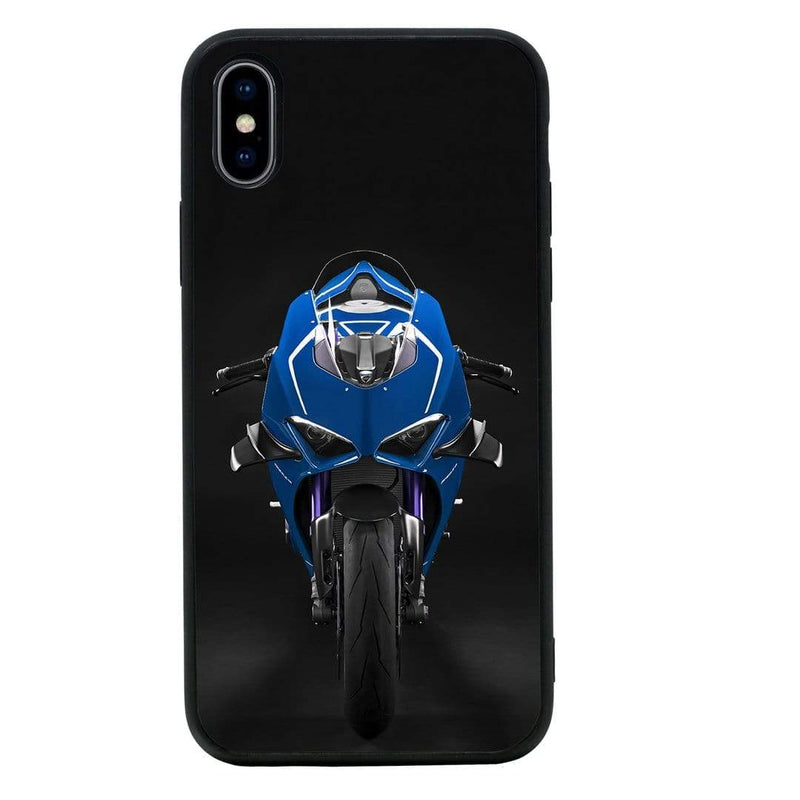 Glass Case Phone Cover for Apple iPhone X XS 10 / Superbikes I-Choose Ltd