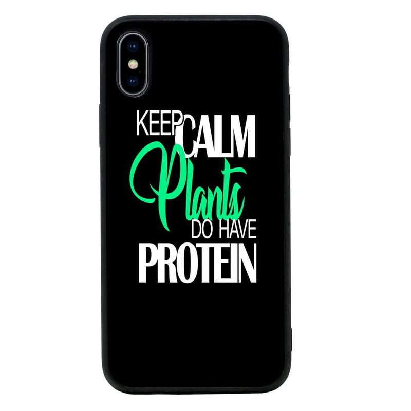Glass Case Phone Cover for Apple iPhone X XS 10 / Vegan I-Choose Ltd