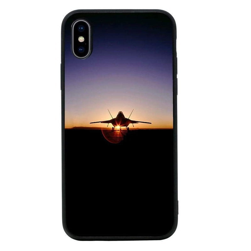 Glass Case Phone Cover for Apple iPhone XR / Fighter Planes I-Choose Ltd