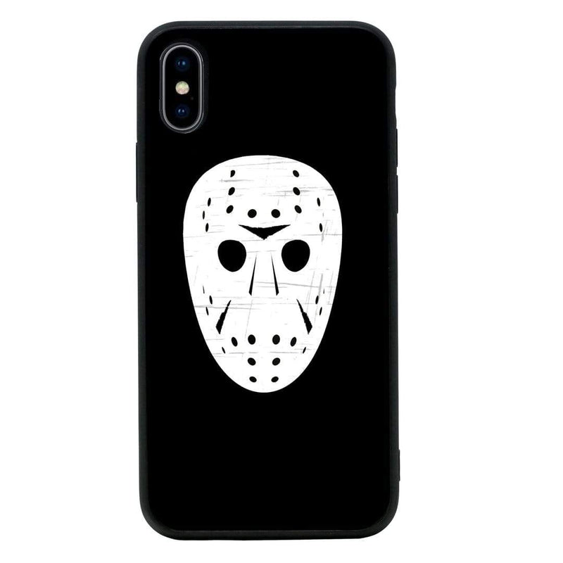 Glass Case Phone Cover for Apple iPhone XR / Horror Face I-Choose Ltd