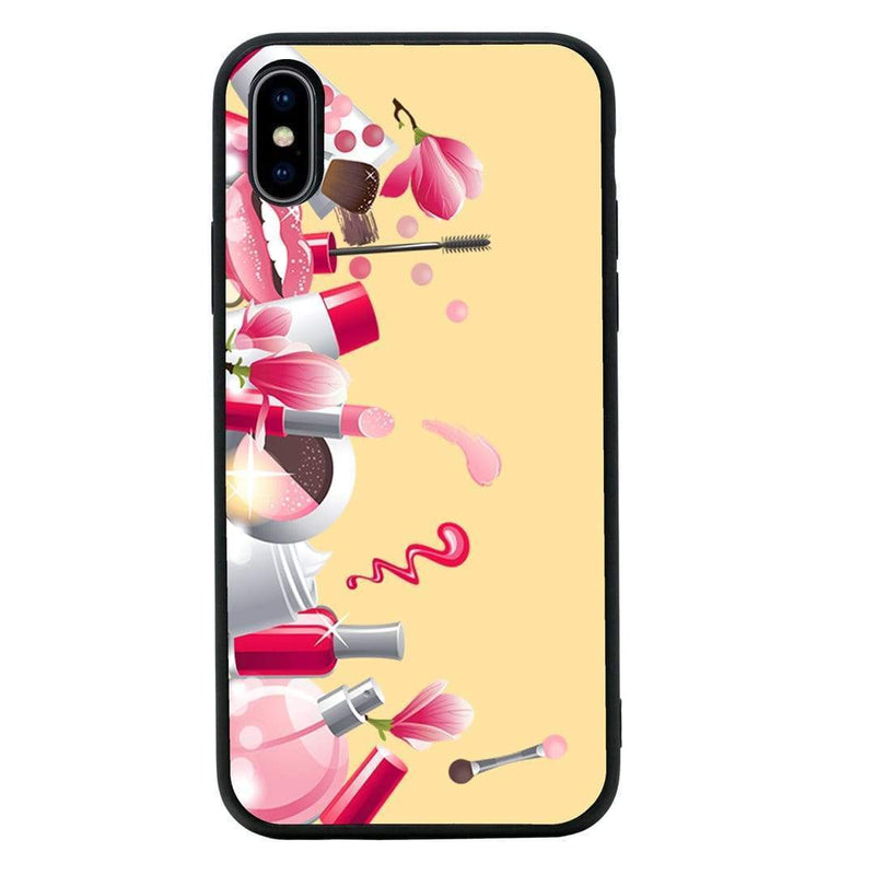 Glass Case Phone Cover for Apple iPhone XR / Lipstick I-Choose Ltd