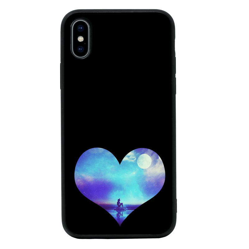 Glass Case Phone Cover for Apple iPhone XR / Mermaids I-Choose Ltd
