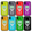 Glass Case Phone Cover for Apple iPhone XR / Retro Mobile I-Choose Ltd
